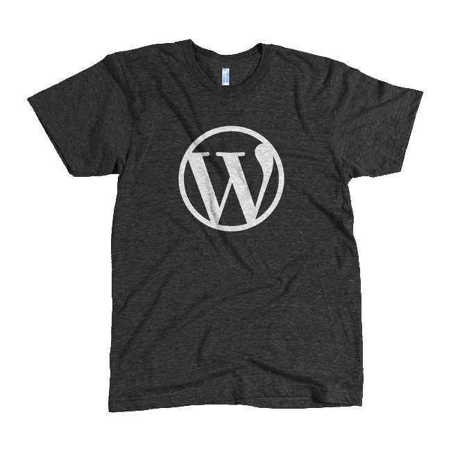 T-shirt WordPress